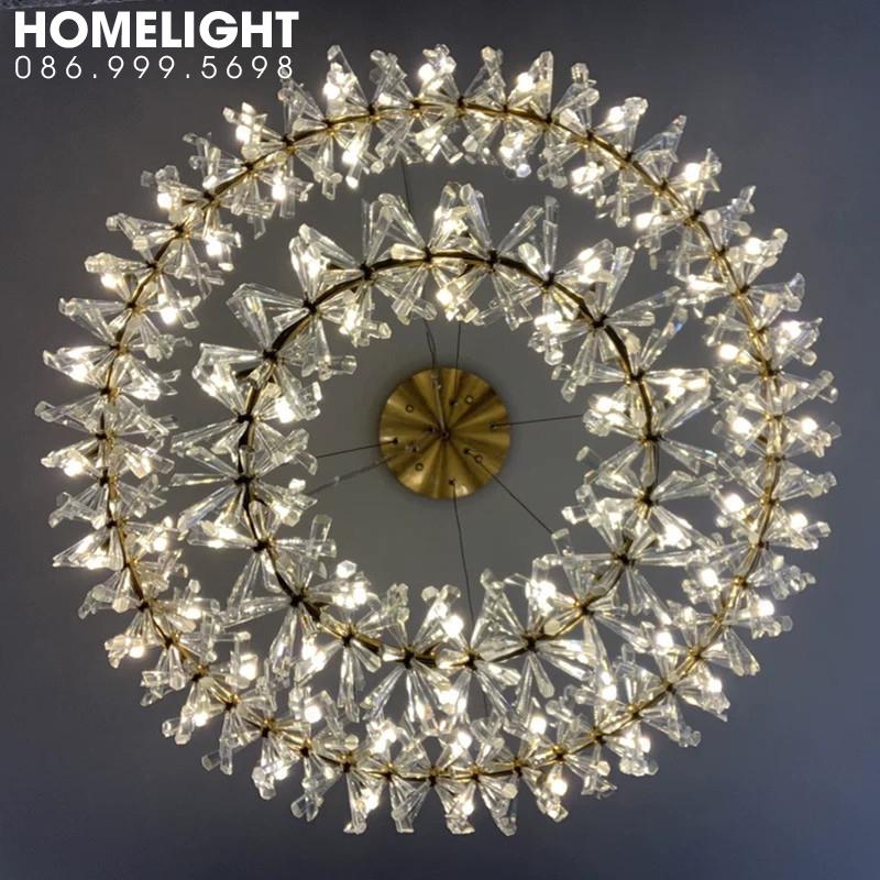 Đèn thả pha lê LADY080-800
