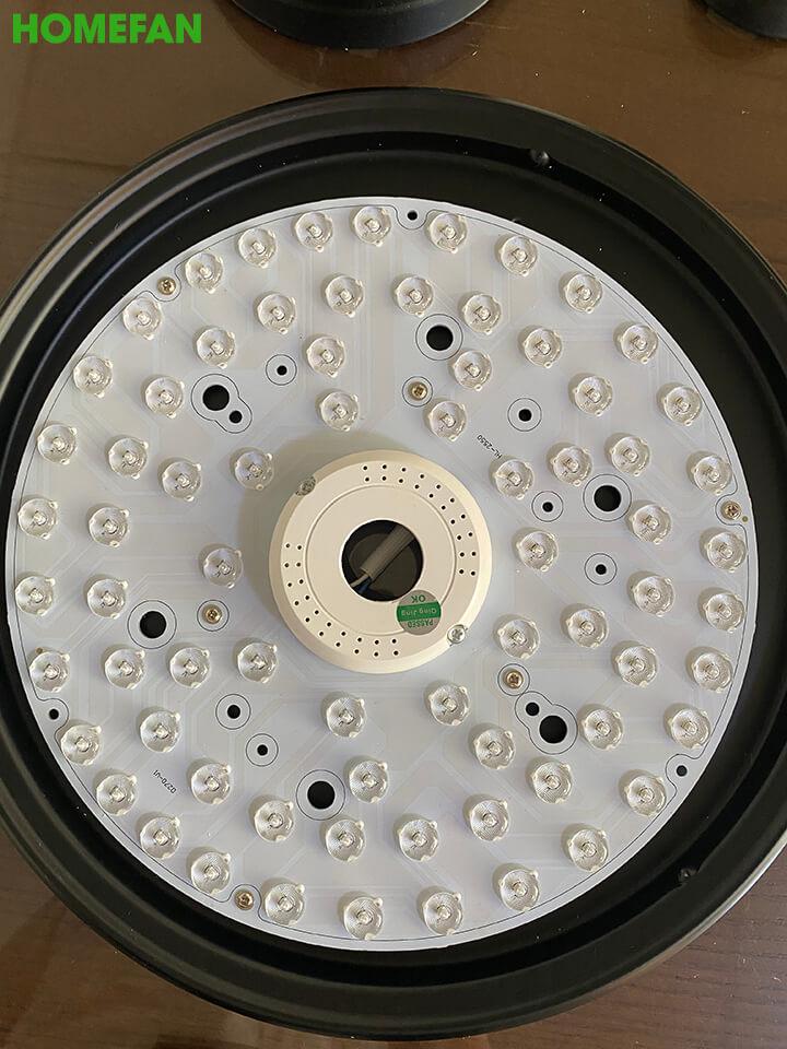 Quạt trần đèn hiện đại - HL-FAN802T